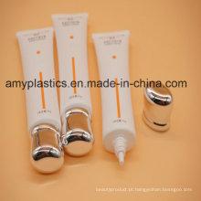 BV-avaliação plana BPA livre plástico de embalagens de cosméticos tubo
