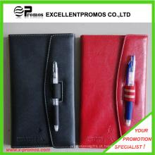 PU notebook de couro com caneta (EP-B55511)