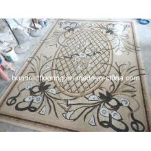 Stone Carpet Marble Mosaic Pattern Tile (STP85)