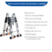 Фабрика многоцелевой алюминиевой лестницы Бытовая стремянка