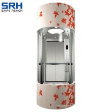 Sicher 4.0m/S Glass Panoramic Elevator