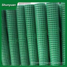 De alta calidad de PVC de revestimiento de malla de alambre soldado (fabricante de China)