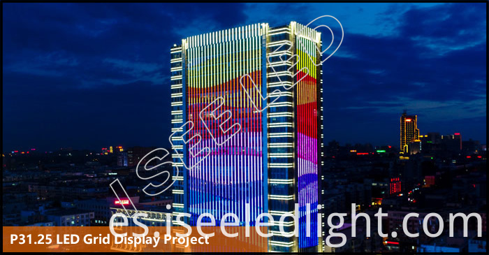 P31.25 LED Grid Display project
