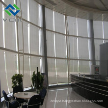 Wide Width Hollow out Inherently Fire/Flame Retardant Fireproof Leno Curtain