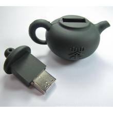 Forma de la tetera forma especial unidad flash USB