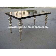 Mesa de comedor de madera de estilo europeo para muebles de boda D1001