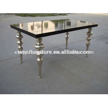 European style wooden dining table for wedding furniture D1001