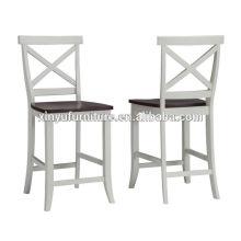 Модный белый цвет высокий стул стула XY3149