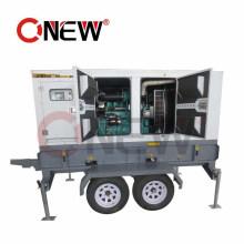 250kVA/200kw Trailer All Mobile Diesel Generator with Wheels