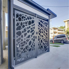 Laser Cutting Metal Screen Door