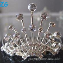 Elegant crystal french combs, fancy wedding hair combs, crystal stylee hair combs
