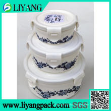 Flower Design, Heat Transfer Film for Plastic Lunch Box