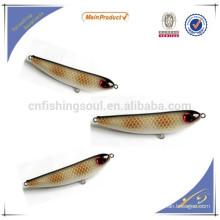 WDL037 156 MM / 75G 122 MM / 38G china atacado alibaba isca de pesca componente iscas de vara de pesca do molde
