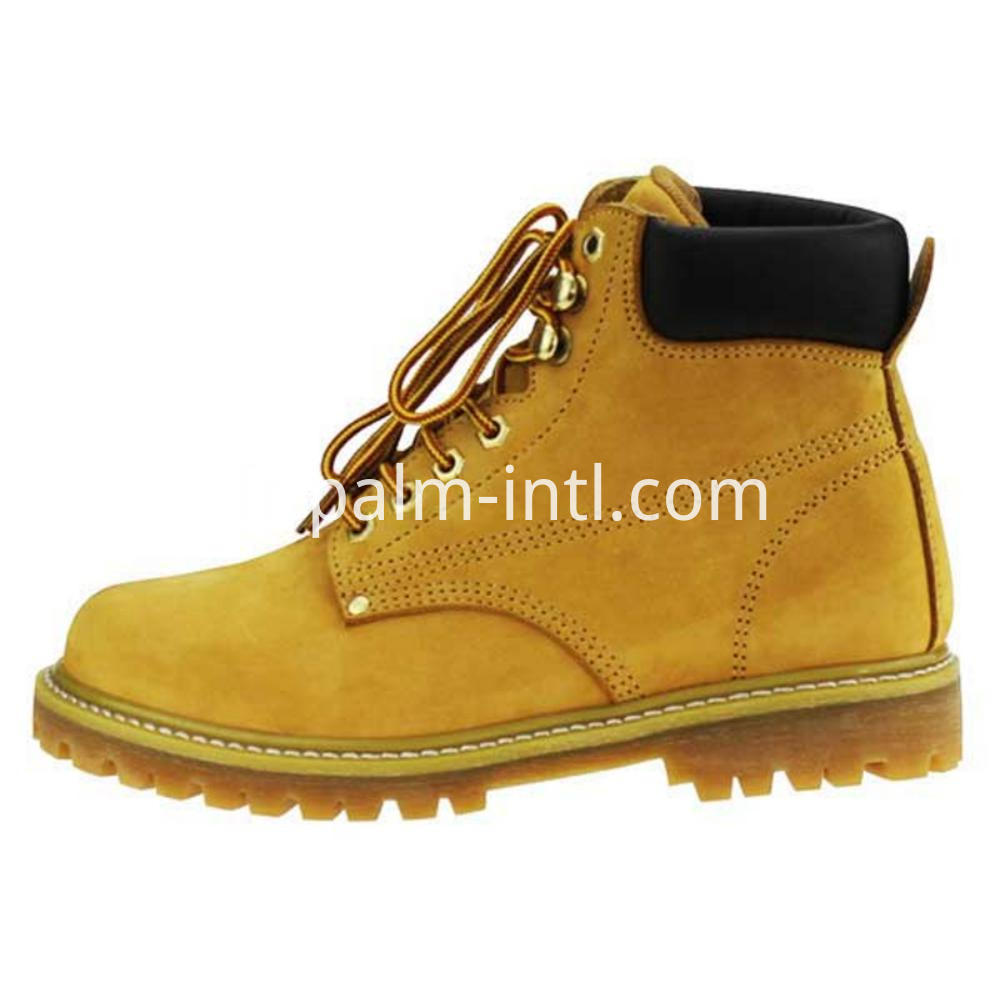 Rubber Outsole Safety Boots