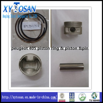 Piston Ring & Piston & Piston Pin for Peugeot 405