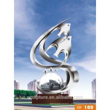 2016 Estátua nova do modelo do metal do aço inoxidável elevado de Quanlity