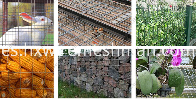 welded mesh panles application