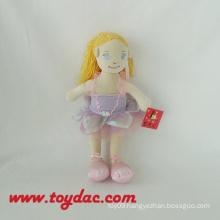 Nice Clothing Plush Ballet Dolls
