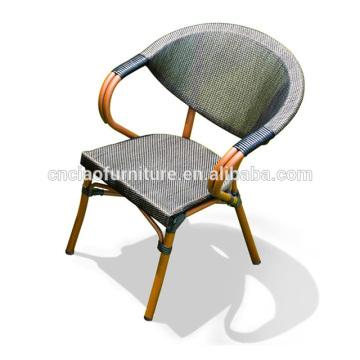 Chaises en aluminium extérieures en bambou de vente chaude de conception spéciale pour le haricot de café