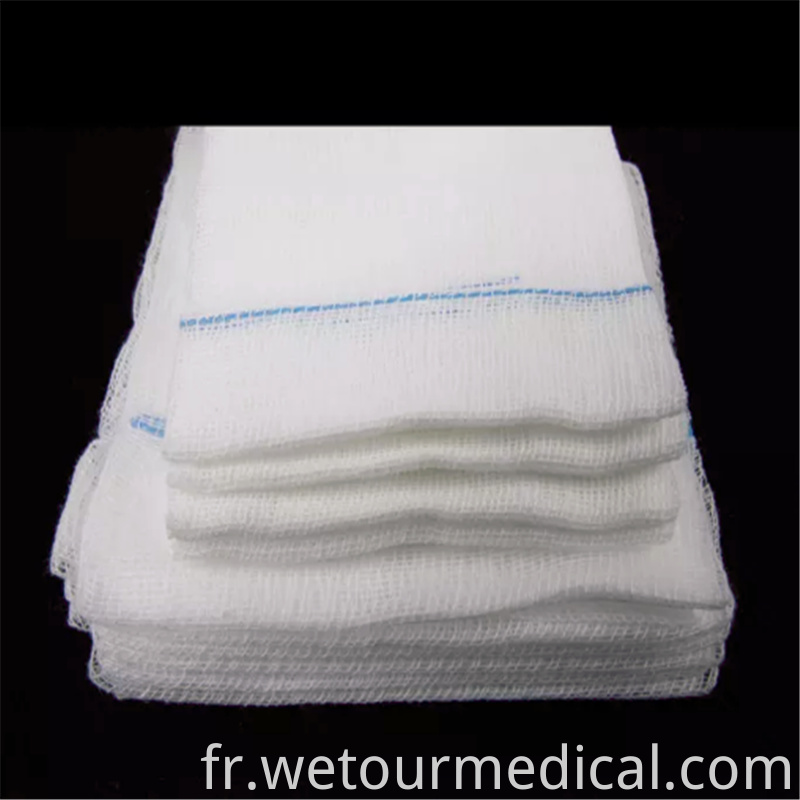 Disposable 100 Cotton Medical Gauze Swab