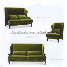 Прием в отеле роскошный диван XY2807