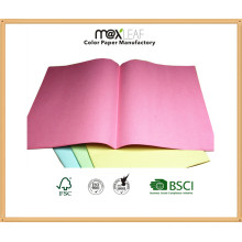 320*240mm 150GSM Colored Square Cut Folders of 4 Light Colors Mixed