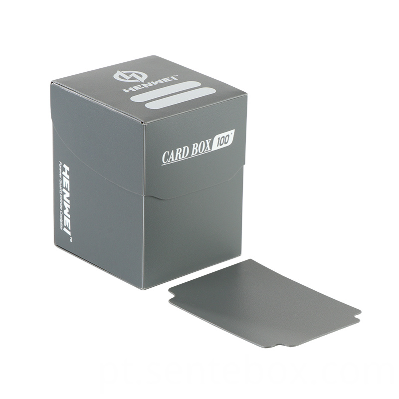 High quality game cards plastic collection packaging boxes