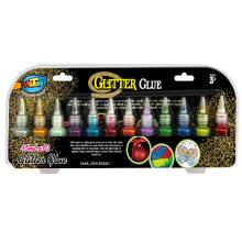 Factory selling blister card glitter glue