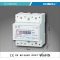 Однофазный электронный измеритель активной электропроводности на DIN-рейке