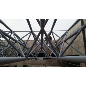 Armature en acier de dôme de cadre, structure en acier de botte