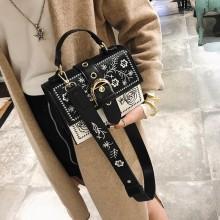 Luxury Handbags Embroidery Shoulder Messenger Bag