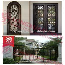 China supplier wrought iron door designs