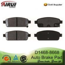 D1468-8668 задних тормозных колодок для Buick, Chevrolet и Opel