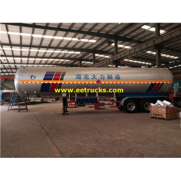 60000L 25ton LPG Delivery Trailers