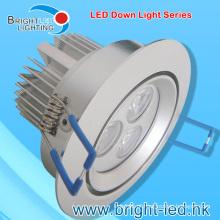 9W Waterproof LED Down Light com CE Certificado de RoHS