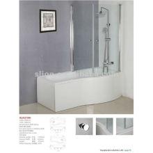 1700mm Glasschirm Bad Dusche mit Glastür