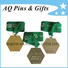 Medalhas de esportes por atacado em diferentes cores de chapeamento