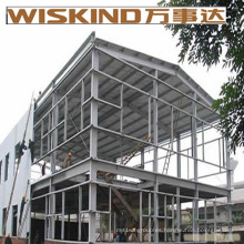 Corrugado de una sola hoja C-Section Steel Construction Garage