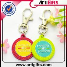 New Best quality souvenir japan soccer team pvc rubber keychains
