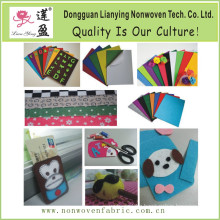 New Fashion Die Cut Color Polyester Wool Felt