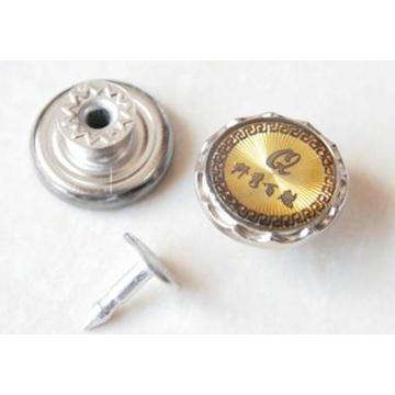 Botones de plata para jeans en movimiento B299