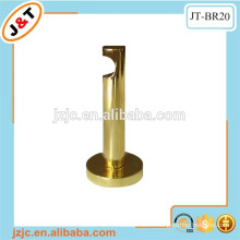 heavy duty steel round gold metal bracket, i shape aluminum bracket