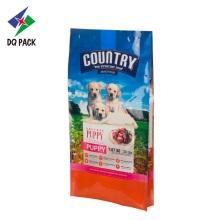 Sacos plásticos de ração para cães com embalagem flexível