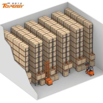 bastidor de estantes de acero de servicio pesado para almacenamiento en almacenes