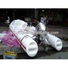 fiberglass ship inflatable PVC boat
