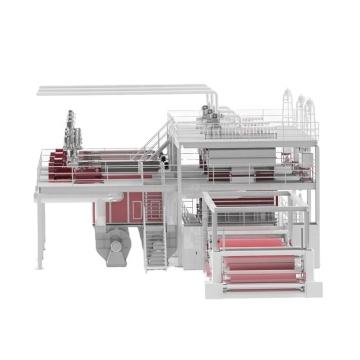 Усовершенствованная машина для производства нетканых материалов SSS 1600/2400/3200/4200 мм