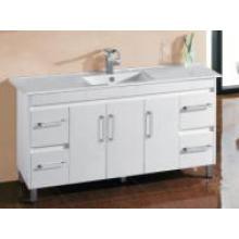 White Gloss MDF Vajilla caliente del cuarto de baño de la venta con Hinger (Um31-1500W)