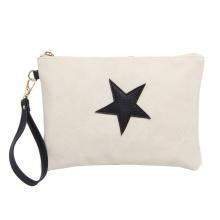 Fashionable Women High Quality Waterproof Soft PU Cosmetics Bag Portable Wrist Bag Ladies wallet