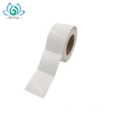 Rolo de papel vegetal, etiqueta de papel de arte revestida