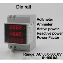 D52-2048 AC200-450V AC0-100.0A Цифровой цифровой измеритель вольтметра